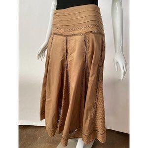 Spiegel Tan Ric Rac Skirt
